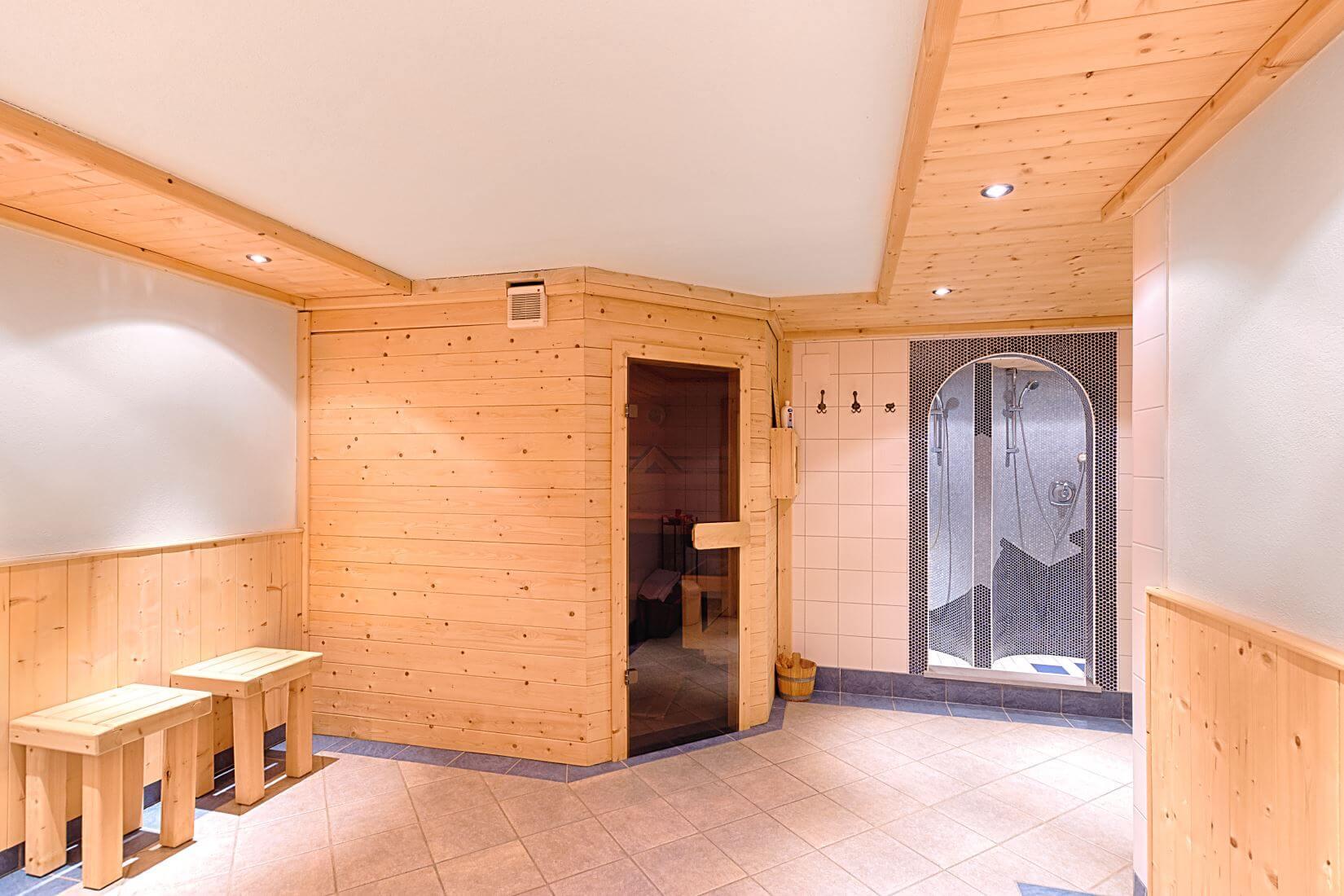 Sauna in Ferienhaus Zehentner